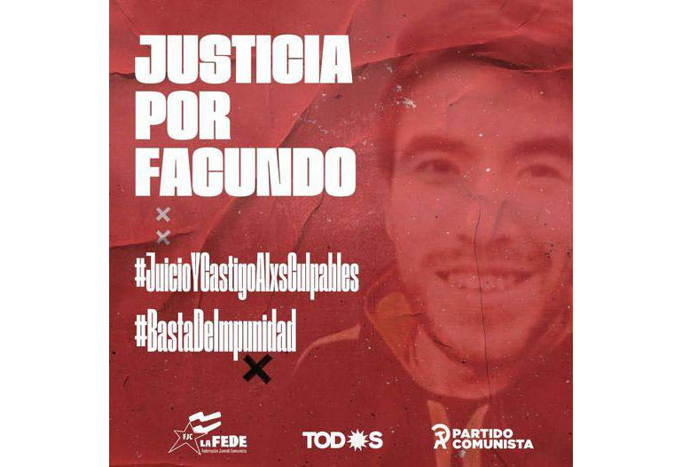 Banner Justicia por Facundo